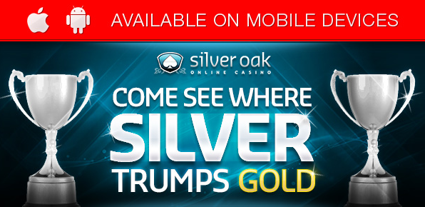Silver Oak Casino Exclusive Bonus Codes