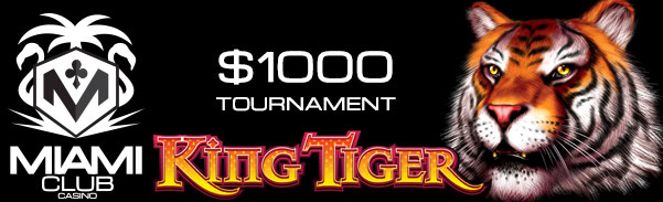 Miami Club Casino Bigger Cat Slot Tournament