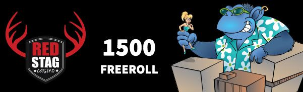 Red Stag Casino October 2017 Freeroll Tournament