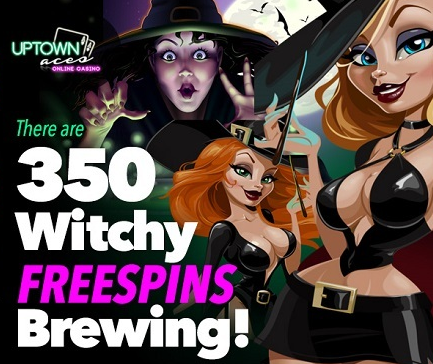 Uptown Aces Casino Witchy Bonuses