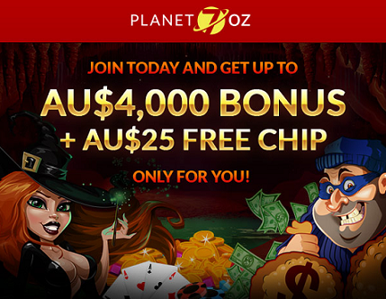 Planet 7 Oz Casino New Player Bonus Codes