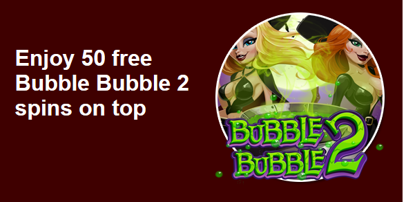 Bubble Bubble 2 Slot Bonus at Grande Vegas Casino