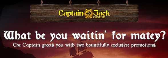 Captain Jack Casino Bonuses For New Players