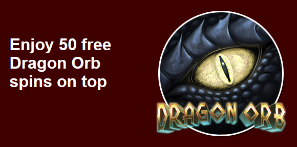 Grande Vegas Casino Dragon Orb Slot Free Spins Plus Match Bonus