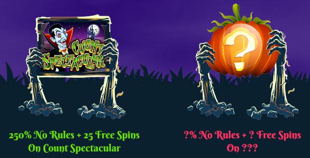 Prism Casino Halloween 2017 Bonuses