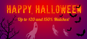 Win A Day Casino Halloween 2017 Bonus Codes