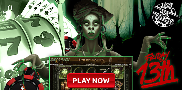 Intertops Casino Friday the 13th Bonus