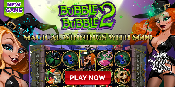 Intertops Casino Bubble Bubble 2 Slot Bonuses