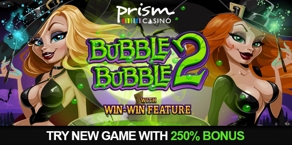 Prism Casino Bubble Bubble 2 Slot Bonus