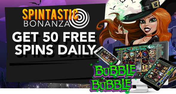 Slotastic Casino October 2017 Daily Bonus