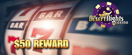Desert Nights Casino November 2017 Bonus Code