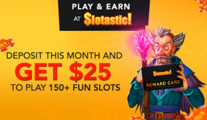 Free November 2017 Slotastic Casino Bonus