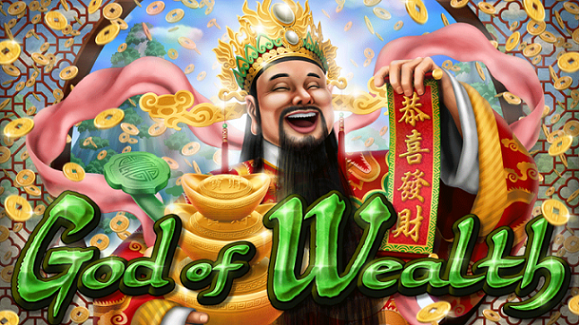 Kudos Casino God of Wealth Slot Free Spins Code
