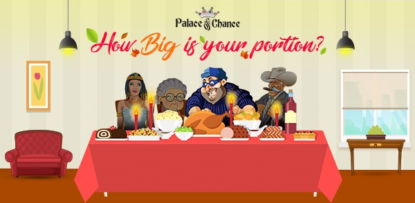 Palace of Chance Casino Thanksgiving 2017 Bonus