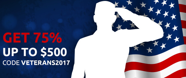 Jackpot Capital Casino Veterans Day 2017 Bonus