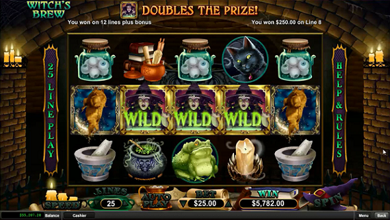 Fair Go Casino Witchs Brew Slot Free Spins Code