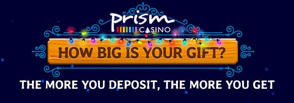 Prism Casino Christmas 2017 Bonus Code