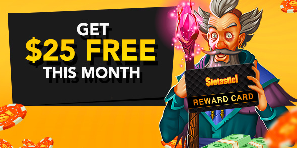 January 2018 Slotastic Casino Bonus