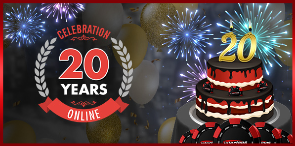 Intertops Casino Anniversary Bonus