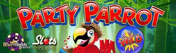 Party Parrot Slot Bonus Codes